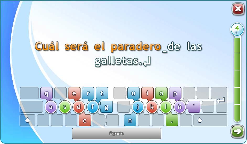 Typing Master Introducción Curso De Mecanografia Al Tacto Profesional