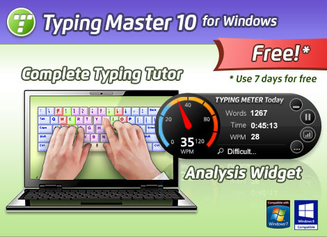 TypingMaster - Learn To Type Faster + Typing Speed Test